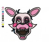 Mangle Five Nights at Freddys Embroidery Design