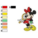 Mickey And Friends Embroidery 25