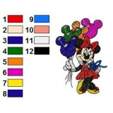 Mickey And Friends Embroidery 26