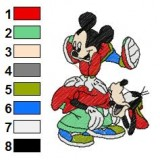 Mickey And Pals Embroidery 18