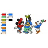 Mickey And Pals Embroidery 20