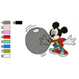Mickey And Pals Embroidery 5