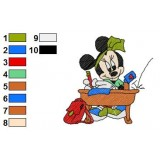Mickey And Pals Embroidery 6