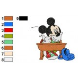 Mickey And Pals Embroidery 7