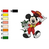 Mickey Mouse Embroidery 10