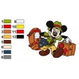 Mickey Mouse Embroidery 11