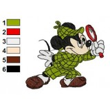 Mickey Mouse Embroidery 12