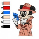 Mickey Mouse Embroidery 13