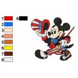 Mickey Mouse Embroidery 19