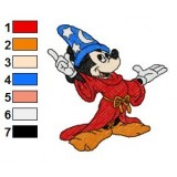 Mickey Mouse Embroidery 7