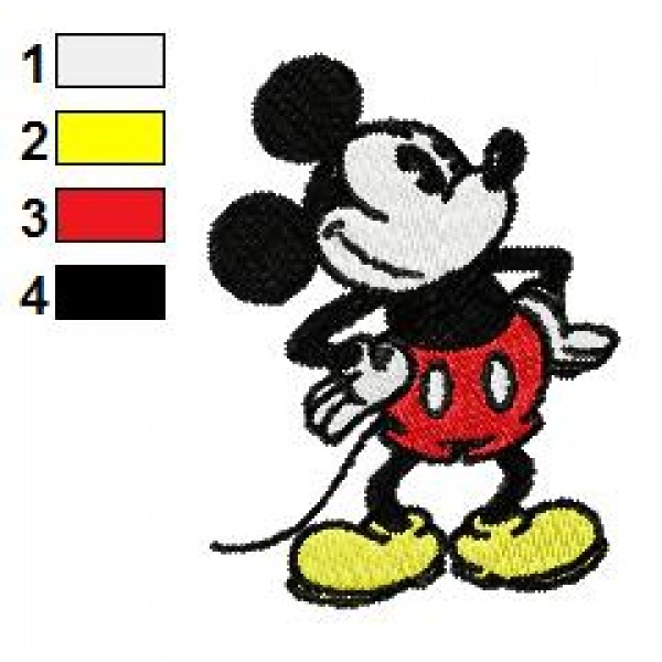 mickey mouse embroidery machine designs