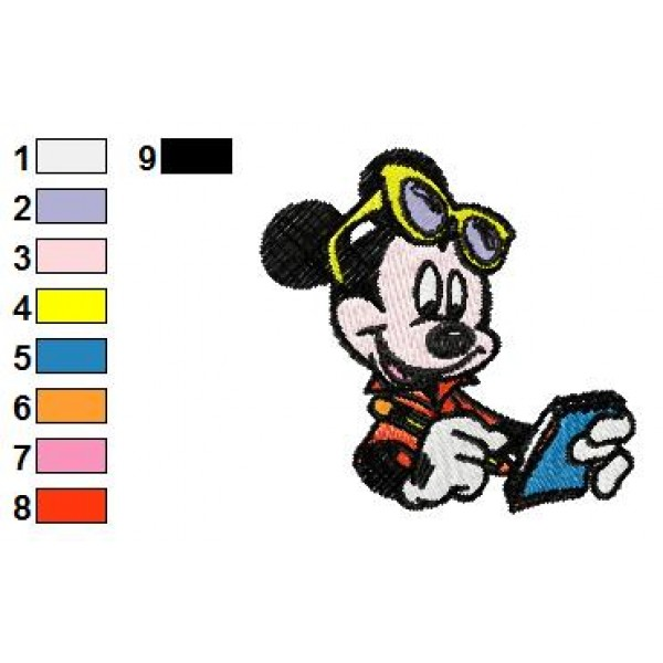 Mickey Mouse Clubhouse Embroidery Design Joy Studio Gallery