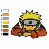 Naruto Shippuden Uzumaki Laughs Embroidery Design