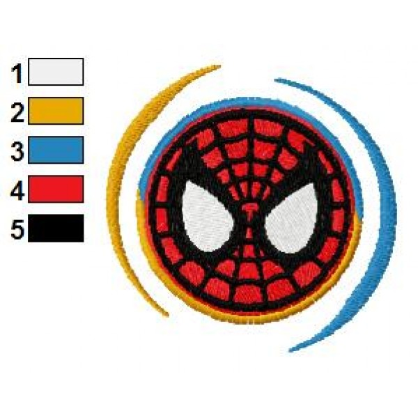 spiderman embroidery designs