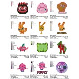 Collection 12 Moshi Monsters Embroidery Designs 02