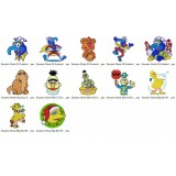 Collection 12 Sesame Street Embroidery Designs Collection 03
