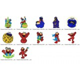 Collection 12 Sesame Street Embroidery Designs Collection 05