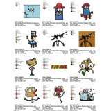 Collection 12 The Marvelous Misadventures of Flapjack Embroidery Designs 02
