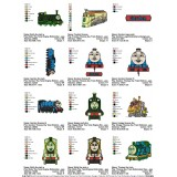 Collection 12 Thomas the Train Embroidery Designs 02
