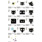 Collection 13 Chococat Embroidery Designs