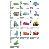 Collection 13 Disney Cars Embroidery Designs 02