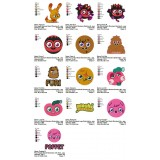 Collection 13 Moshi Monsters Embroidery Designs 01