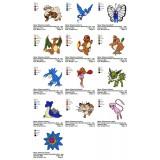 Collection 13 Pokemon Embroidery Designs 03