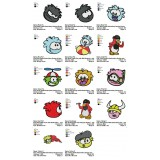 Collection 14 Club Penguin Embroidery Designs 01