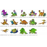 Collection 14 Land Before Time Embroidery Designs Collection 03