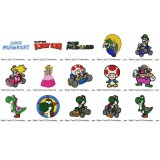 15 Mario Embroidery Designs Collection 03