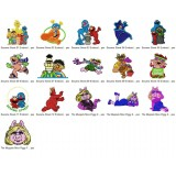 16 Sesame Street Embroidery Designs Collection 01