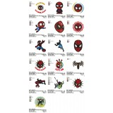 Collection 16 SpiderMan Embroidery Designs 01