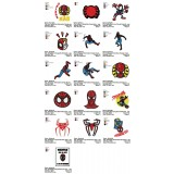 Collection 16 SpiderMan Embroidery Designs 02
