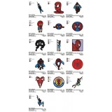 Collection 16 SpiderMan Embroidery Designs 03
