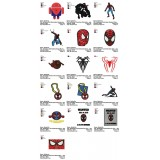 Collection 16 SpiderMan Embroidery Designs 04