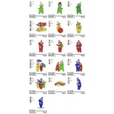 Collection 16 Teletubbies Embroidery Designs 01