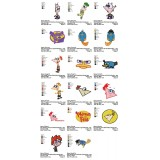 Collection 17 Phineas and Ferb Embroidery Designs 01