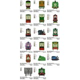 Collection 17 Thomas the Train Embroidery Designs 03