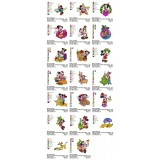 Collection 20 Christmas Mickey Mouse Embroidery Designs