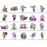 20 Rugrats Embroidery Designs Collection