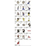 Collection 22 Popeye Embroidery Designs
