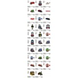Package 29 Thomas The Train Embroidery Designs