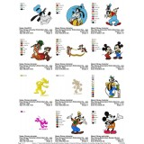 Collection Disney Characters Embroidery Designs 01