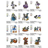Collection Donald Duck and Daisy Duck Embroidery Designs 02