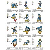 Collection Donald Duck and Daisy Duck Embroidery Designs 03
