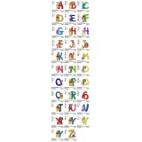 Collection Full Winnie the Pooh Alphabets Embroidery Designs