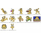 Garfield Embroidery Designs Collection 04