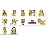 Garfield Embroidery Designs Collection 05