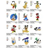 Collection Mickey And Friends Embroidery Designs 01