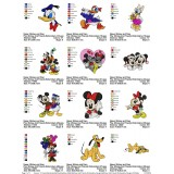 Collection Mickey And Friends Embroidery Designs 02